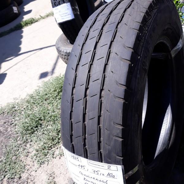 Бусовские шины б.у. / резина бу 195.75.r16с Continental ContiVancontact 100 Континенталь