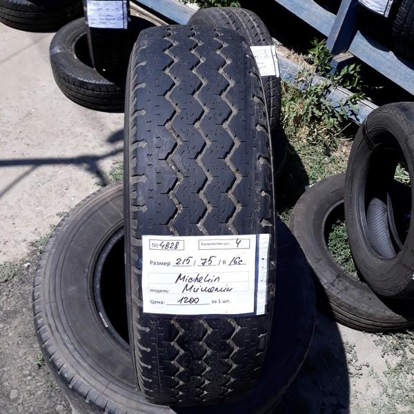 Бусовские шины б.у. / резина бу 215.75.r16с Michelin XC Camping Мишлен