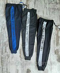Спортивные штаны для мальчика ЧЕРНЫЙ (9-12лет)