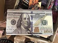 Дерев'яний конверт для грошей 100доларів 19*10*1.5см, DVP16