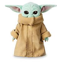 Мягкая игрушка Disney Звездные войны: Мандалорец Малыш Йода Дисней оригинал плюш