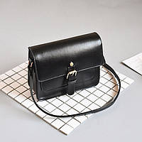Женская сумка через плечо черного цвета, женская сумочка клатч