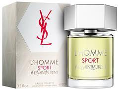 Yves Saint Laurent L`Homme Sport Туалетная вода 100ml (Ив Сен Лоран Л Хомме) Мужской Парфюм Духи EDP Parfum