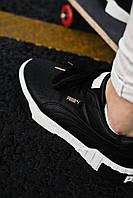 Кроссовки кеды женские Puma Cali Black (пума кали черные)