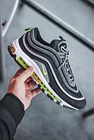 Кроссовки мужские Nike Air Max 97 Black Grey Green (найк аир макс 97), фото 1
