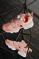 Кроссовки женские Reebok InstaPump Pink (рибок инста памп розовые)