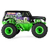 Hot Wheels Monster Jam Внедорожник джип на р/у 1:24 Scale Grave Digger Remote Control Trucks, фото 6