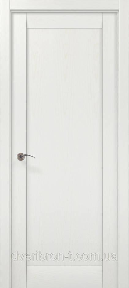 Двери Millenium ML-00Fc ясень белый