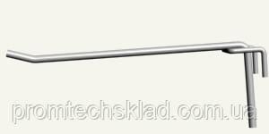 Гачок одинарний на сітку 50 х 50 мм, довжина - 150 мм