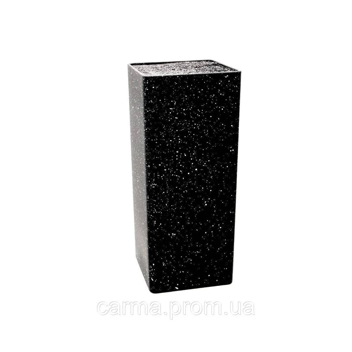 Подставка для ножей UNIQUE UN-1856 Черный/Белый