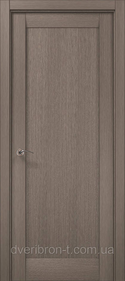Двері Millenium ML-00Fc дуб сірий брашированний