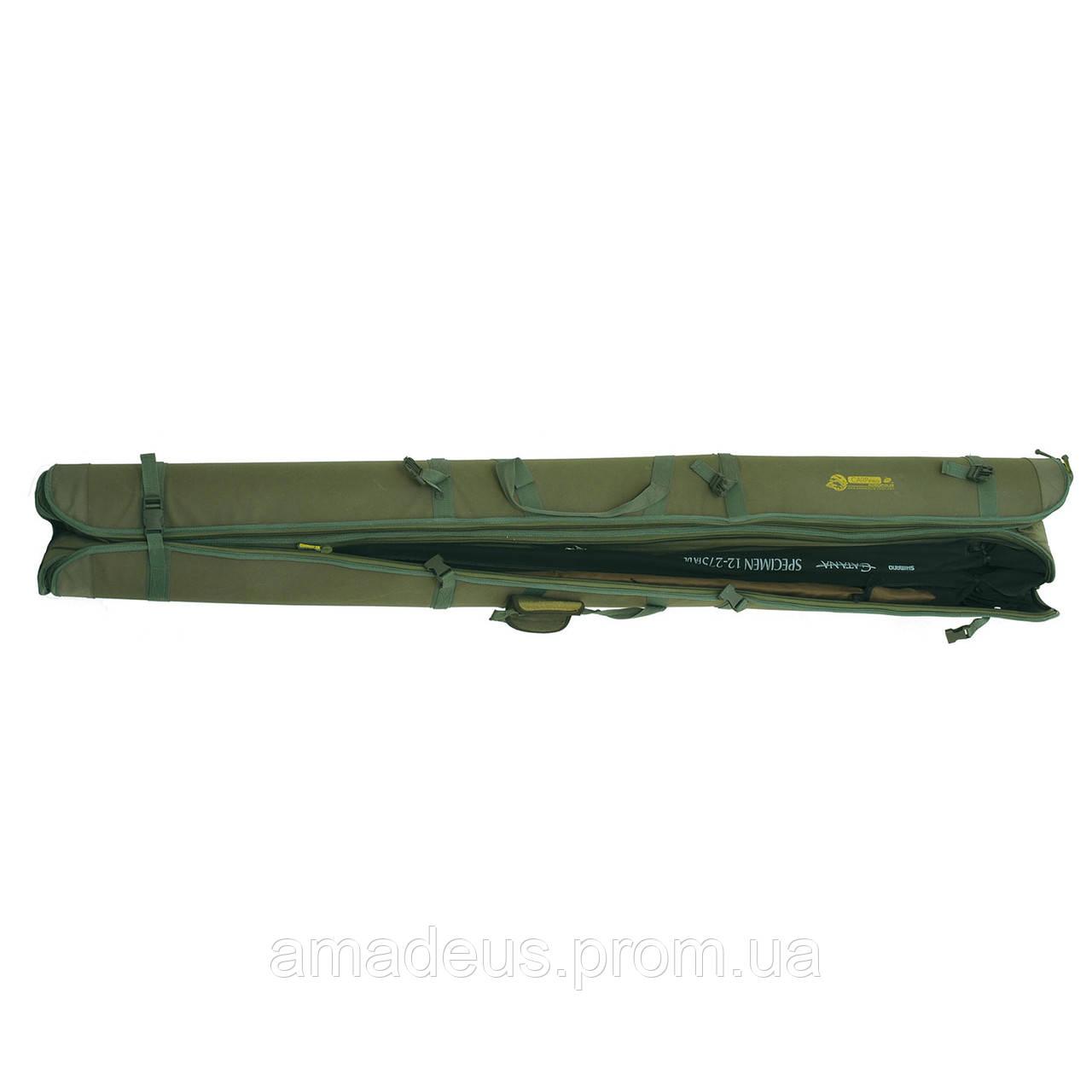 Кофр для удочек жесткий (210см) КВ-12в