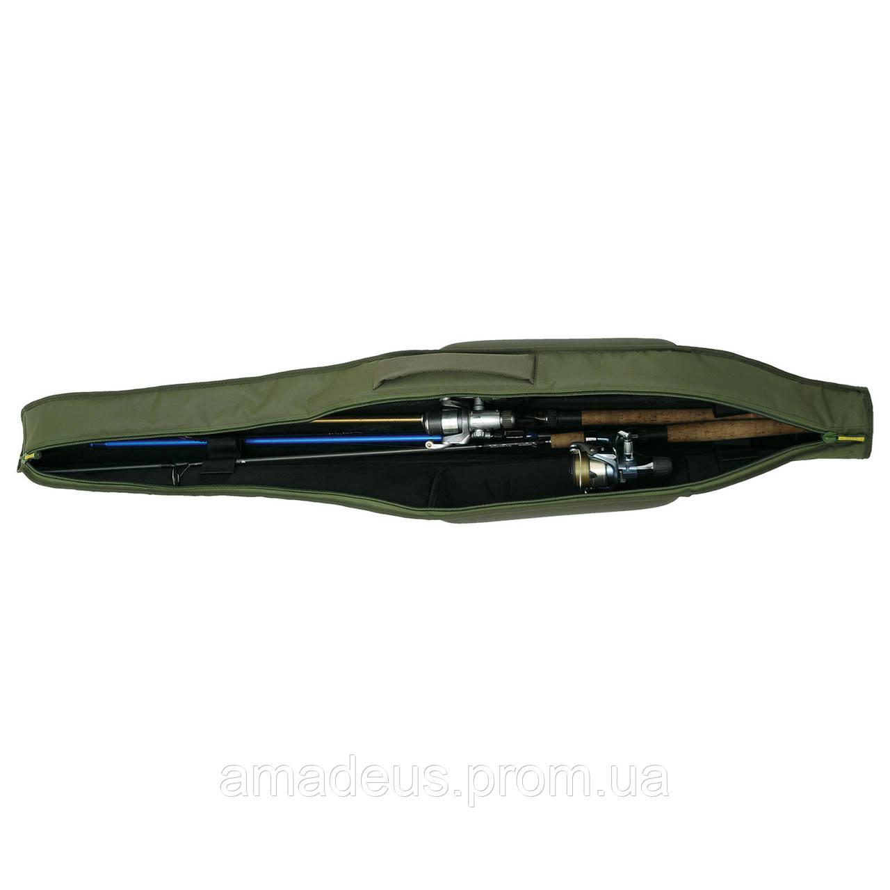 Кофр для вудок жорсткий (145 см) КВ-18а