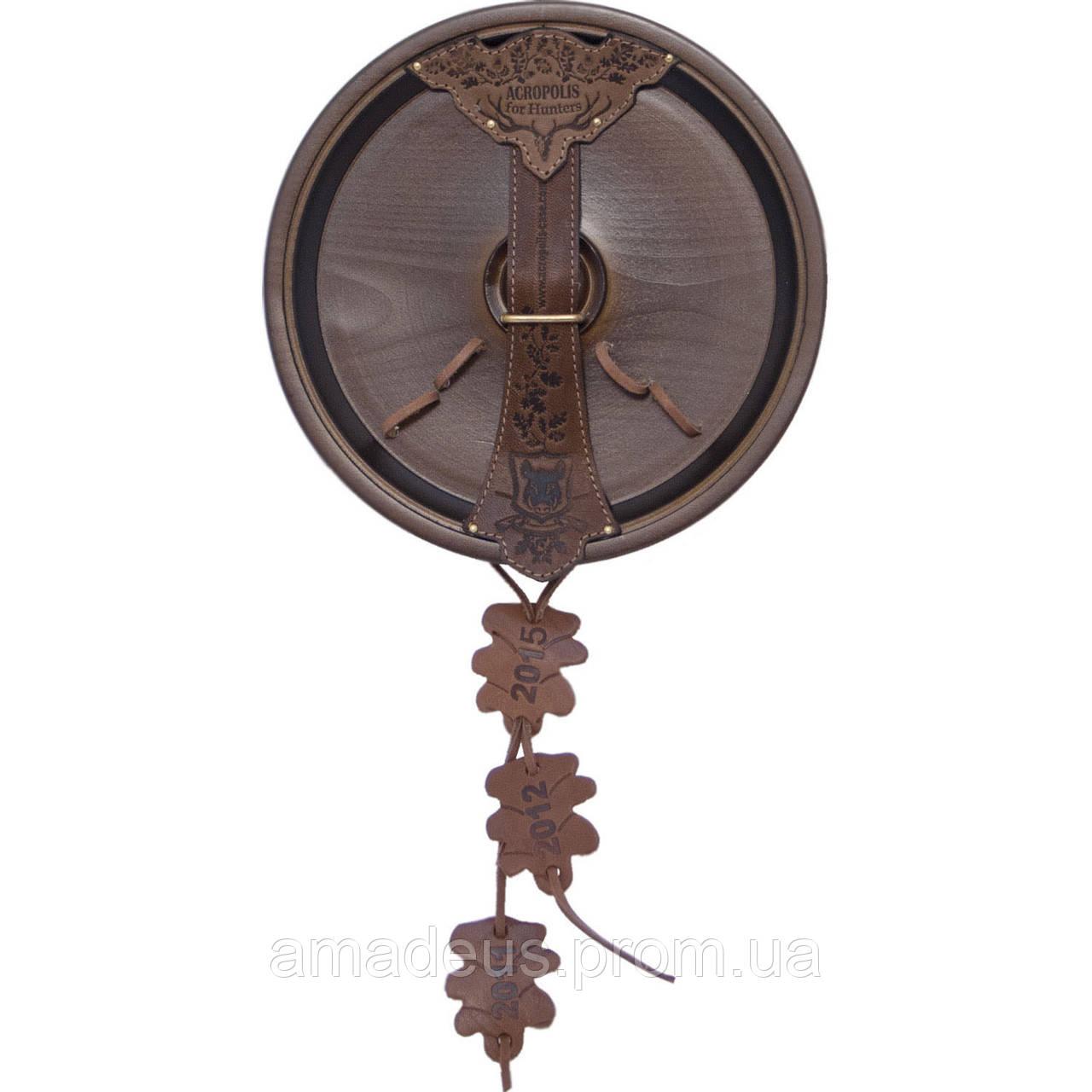 Декоративная доска для трофеев (клыки кабана) ДТ-51