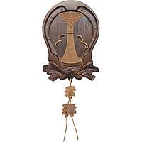 Декоративная доска для трофеев (клыки кабана) ДТ-56