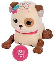 Little Live Pets Интерактивный маленький щенок Спринки с мячиком вишенка Sprinky Cutie Pup Single Pack
