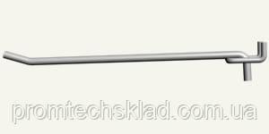 Крючок одинарный на экспопанель, длина - 250 мм