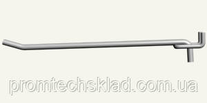 Гачок одинарний на экспопанель, довжина - 300 мм