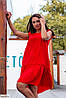 Платье женское большого размера с рюшами, фото 4