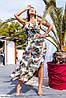 Летнее платье с цветочным принтом большого размера, фото 3
