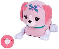 Little Live Pets Интерактивный маленький щенок с мячиком (клубничка) Sprinky Cutie Pup Single Pack