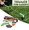 Ручная беспроводная газонокосилка, Триммер для травы Zip Trim, фото 7