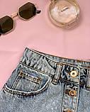 Стильная джинсовая юбка на пуговицах Размеры: 34,36,38,40,42, фото 5
