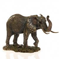 Статуэтка Veronese Слон с поднятым хоботом