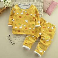 Теплющие, плюшевые пижамки р. 80 см