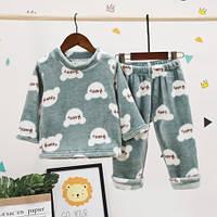 Теплющие, плюшевые пижамки р. 80 - 110 см