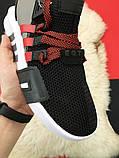 Мужские кроссовки Adidas Equipment EQT Black White Red, мужские кроссовки адидас эквипмент ект (42,44 размеры), фото 4