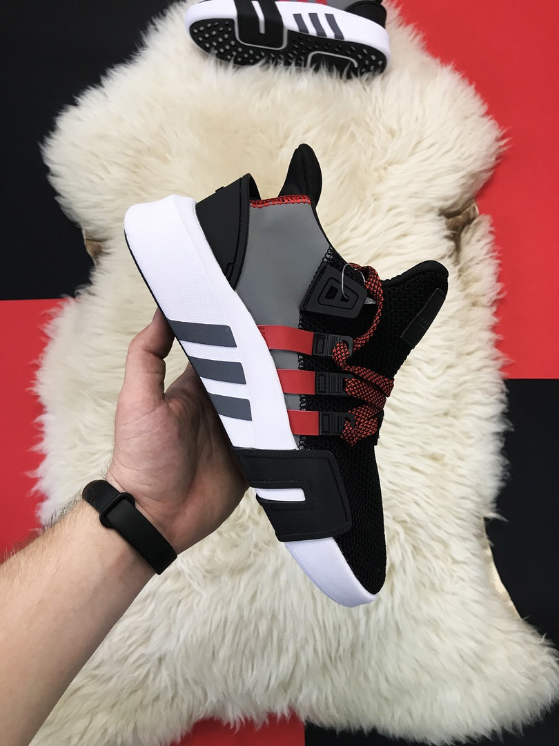 Мужские кроссовки Adidas Equipment EQT Black White Red, мужские кроссовки адидас эквипмент ект (42,44 размеры)