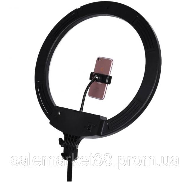 Кольцевая светодиодная лампа LED AL-360 (диаметр 36 cм) с пультом