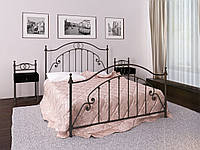 Кровать Home-UA Металл-Дизайн Firenze Флоренция 160х190 см Черный hubkvoG59760, КОД: 1710167
