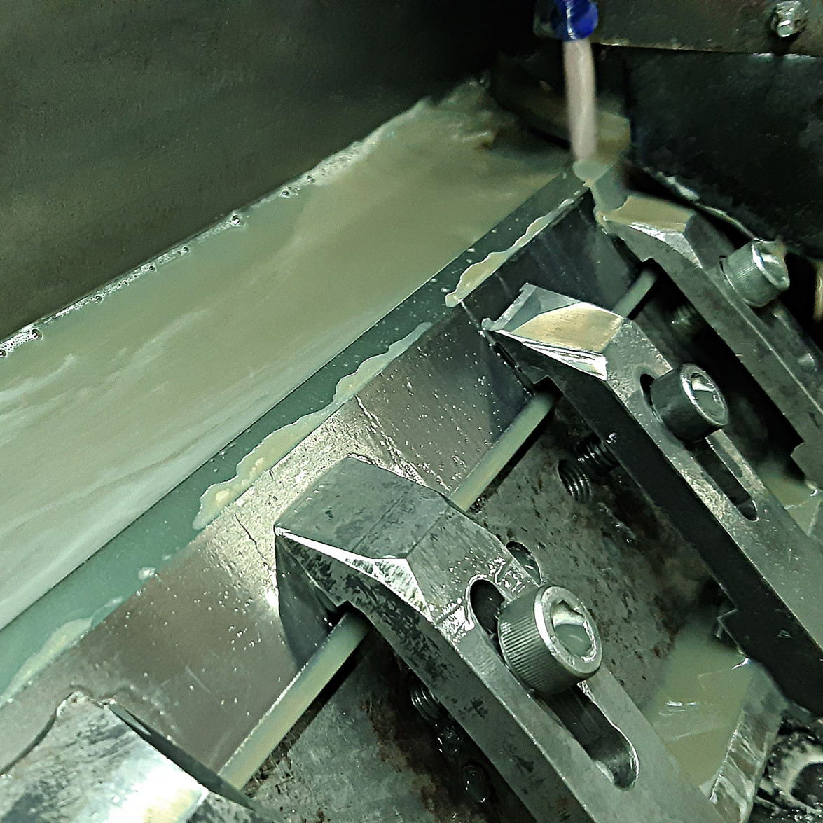 Заточка фуговальных (строгальных) ножей для фуганков и рейсмусов на станках с ЧПУ