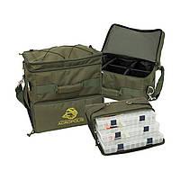 Трехсекционная сумка для рыбаков РС-1у