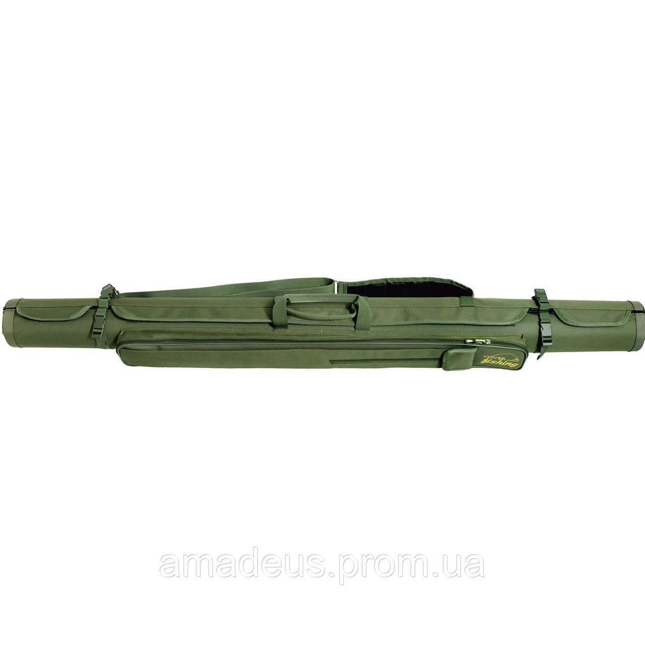 Жесткий кофр-тубус для спиннингов (150, ф12) КВ-4