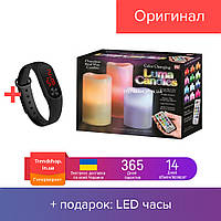 Ночник 3 свечи Luma Candles Color Changing!