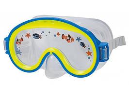 Маска для плавания  Intex 55911 гипоаллергенная Cиняя, КОД: 199747