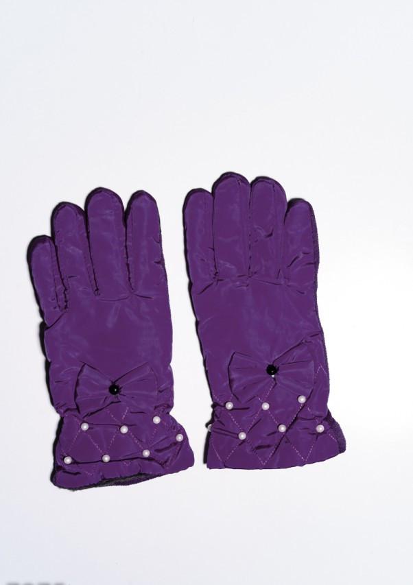 Женские перчатки  7875  Universal фиолетовый