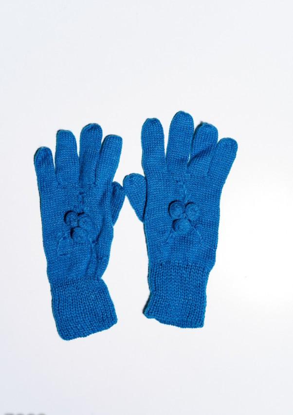 Женские перчатки  7892  Universal синий
