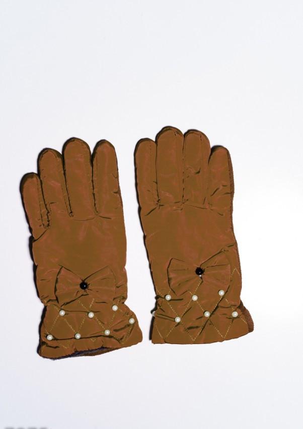Женские перчатки  7875  Universal коричневый