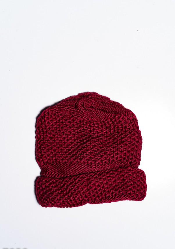 Женские шапки  7930  Universal бордовый