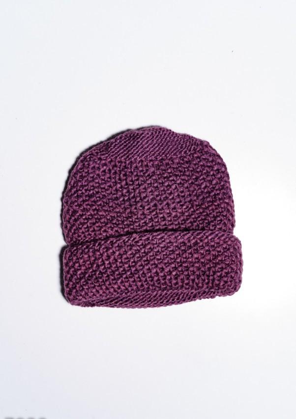 Женские шапки  7930  Universal сиреневый