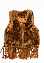 Жилетки  CD-122  2 года (88-92р) коричневый