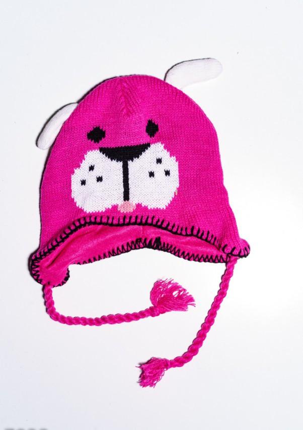 Детские шапки  7938  Universal малиновый