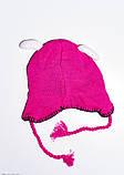 Детские шапки  7938  Universal малиновый, фото 2