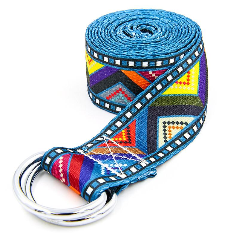 Ремень для йоги (183x3,8 см) FI-6975-19