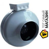 Осевой бытовой канальный вентилятор вытяжной Europlast AKM315 белый