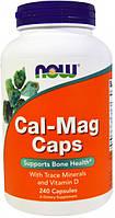 Кальций и магний NOW Foods Cal-Mag Caps (240 капс)